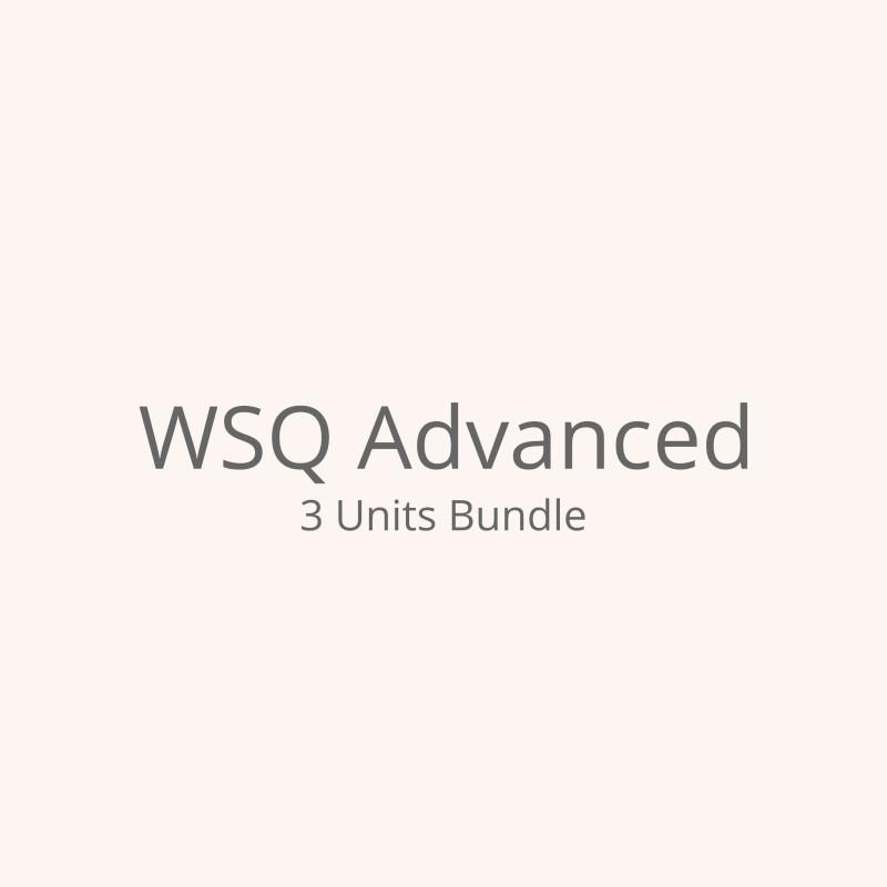 WSQ Courses (Units)