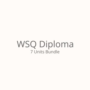Bundled Units (WSQ Diploma)
