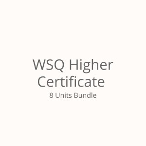 Bundled Units (WSQ Higher Certificate)